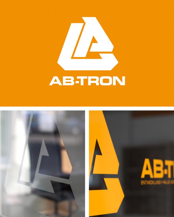 AB-Tron Logo & Fensterbeklebung